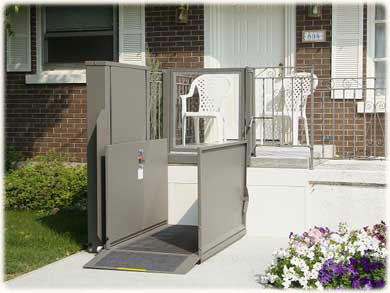 Porch Wheelchair Lift Porch Wheelchair Lift